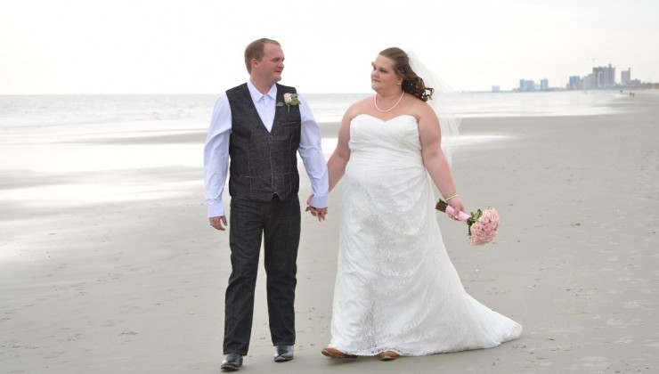 November Beach Wedding