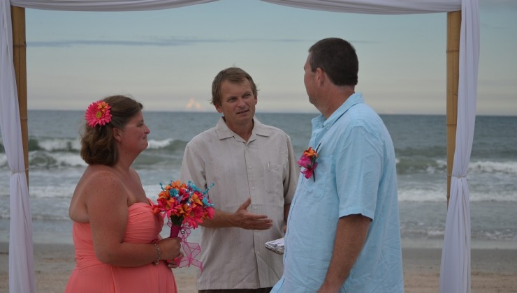 Intimate Myrtle Beach Vow Renewal