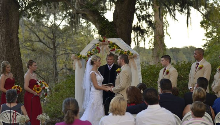 Upper Mill Plantation Wedding